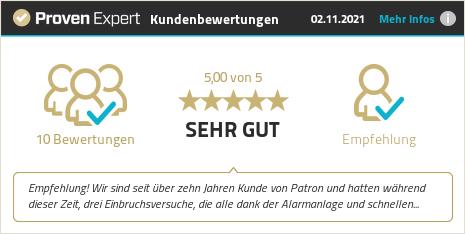 Kundenbewertungen & Erfahrungen zu PATRON AG. Mehr Infos anzeigen.