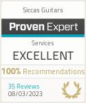 ProvenExpert-Profil von Siccas Guitars anzeigen