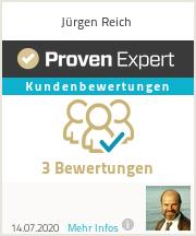 Erfahrungen & Bewertungen zu Jürgen Reich