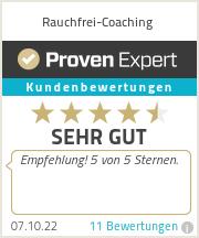 Erfahrungen & Bewertungen zu Rauchfrei-Coaching