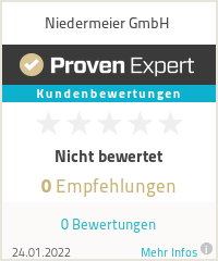 Erfahrungen & Bewertungen zu Niedermeier GmbH
