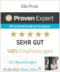 Erfahrungen & Bewertungen zu Udo Prost