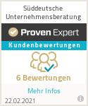 Erfahrungen & Bewertungen zu Süddeutsche Unternehmensberatung