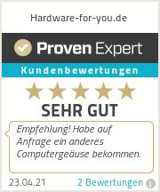 Erfahrungen & Bewertungen zu Hardware-for-you.de