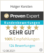 Ratings & reviews for Holger Korsten