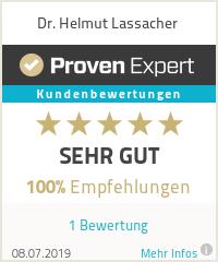 Erfahrungen & Bewertungen zu Dr. Helmut Lassacher