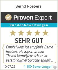 Erfahrungen & Bewertungen zu Bernd Roebers