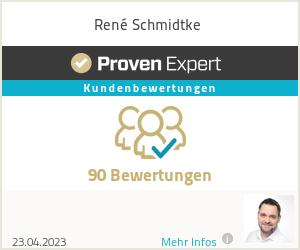 Erfahrungen & Bewertungen zu René Schmidtke