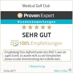 Erfahrungen & Bewertungen zu Medical Golf Club