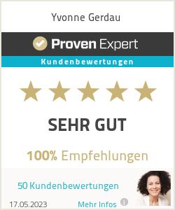 Erfahrungen & Bewertungen zu Yvonne Gerdau