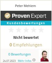 Erfahrungen & Bewertungen zu Peter Mehlem