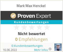 Erfahrungen & Bewertungen zu Mark Max Henckel
