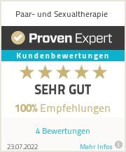 Erfahrungen & Bewertungen zu Paar- und Sexualtherapie