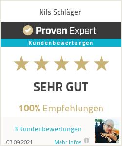 Erfahrungen & Bewertungen zu Nils Schläger