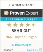 Erfahrungen & Bewertungen zu ERA Amer & Partner