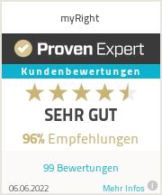 Erfahrungen & Bewertungen zu myRight