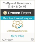Erfahrungen & Bewertungen zu Treffpunkt Finanzieren GmbH & Co KG