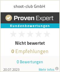 Erfahrungen & Bewertungen zu shoot-club GmbH