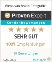 Erfahrungen & Bewertungen zu Elena van Brand Fotografie
