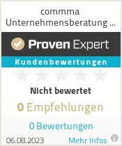 Erfahrungen & Bewertungen zu commma Unternehmensberatung GmbH