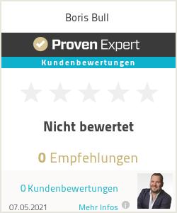Erfahrungen & Bewertungen zu Boris Bull