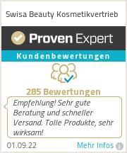 Erfahrungen & Bewertungen zu Swisa Beauty Kosmetikvertrieb
