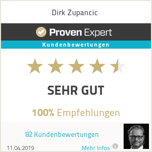 Erfahrungen & Bewertungen zu Dirk Zupancic