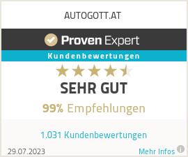 Erfahrungen & Bewertungen zu AUTOGOTT.AT
