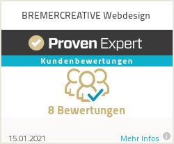 Erfahrungen & Bewertungen zu BREMERCREATIVE Webdesign