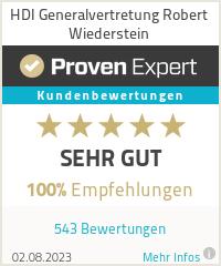 Erfahrungen & Bewertungen zu HDI Generalvertretung Robert Wiederstein