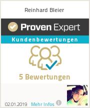 Erfahrungen & Bewertungen zu Reinhard Bleier