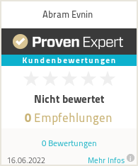 Erfahrungen & Bewertungen zu Abram Evnin