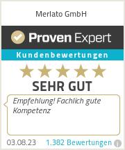 Erfahrungen & Bewertungen zu Merlato GmbH
