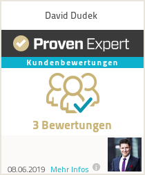 Erfahrungen & Bewertungen zu David Dudek