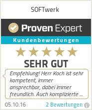Bewertungen SOFTwerk EDV & Kommunikationstechnik Vertrieb und Service  | Nonnweiler