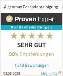 Erfahrungen & Bewertungen zu Algenmax GmbH