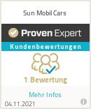 Erfahrungen & Bewertungen zu Sun Mobil Cars