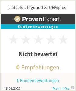 Erfahrungen & Bewertungen zu sailsplus togopod XTREMplus