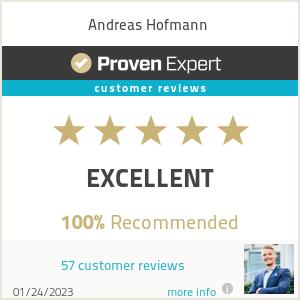Erfahrungen & Bewertungen zu Andreas Hofmann