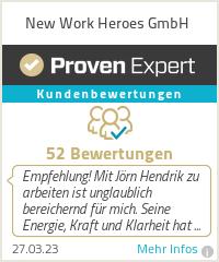 Erfahrungen & Bewertungen zu New Work Heroes GmbH