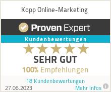 Erfahrungen & Bewertungen zu Kopp Online-Marketing