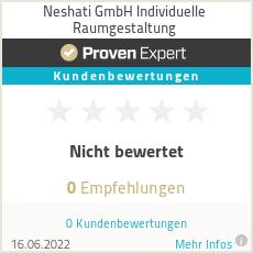Erfahrungen & Bewertungen zu Neshati GmbH Individuelle Raumgestaltung
