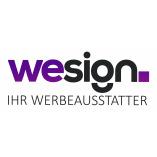 WeSign. Ihr Werbeausstatter logo