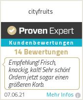 Erfahrungen & Bewertungen zu cityfruits