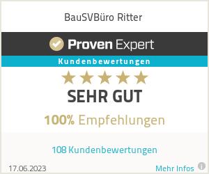Erfahrungen & Bewertungen zu BauSVBüro Ritter