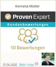 Erfahrungen & Bewertungen zu Kornelia Müller