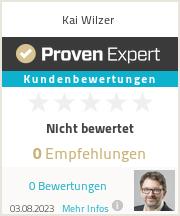 Erfahrungen & Bewertungen zu Kai Wilzer