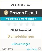 Erfahrungen & Bewertungen zu DS Brandschutz
