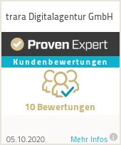 Erfahrungen & Bewertungen zu trara Werbeagentur