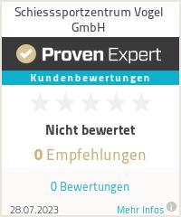 Erfahrungen & Bewertungen zu Schiesssportzentrum Vogel GmbH